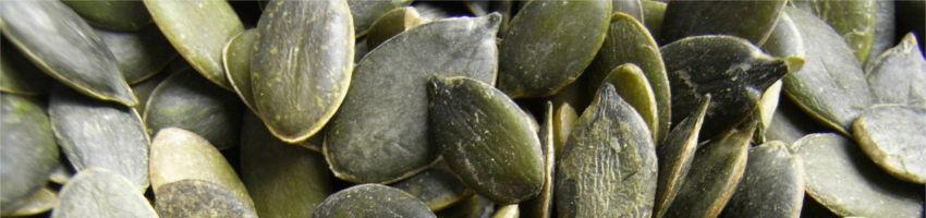 Orzechy, nasiona dyni i lnu