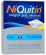 NiQuitin  - plastry nikotynowe